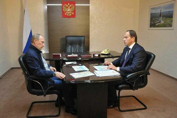 Владимир Путин и Лев Кузнецов обсудили ситуацию с низким уровнем воды в реке Норильской
