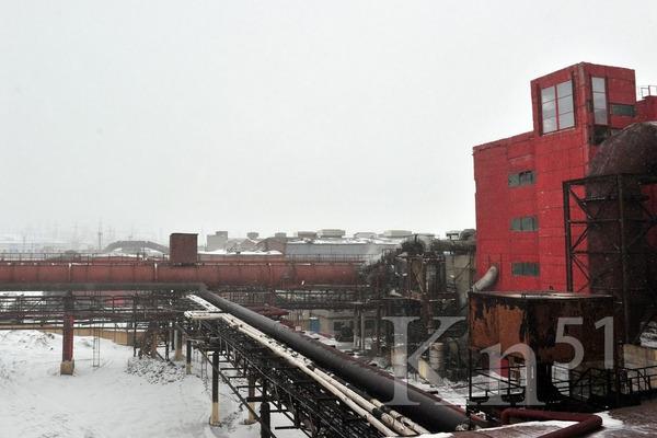Ремонт газохода продолжается на мончегорской промплощадке Кольской ГМК