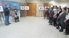 Фотовыставка, посвященная юбилею Почетного гражданина Таймыра, открылась в районном краеведческом музее