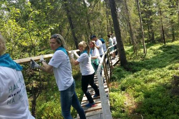 Эстафету экомарафона «ПонесЛось!» приняли в Мурманской области