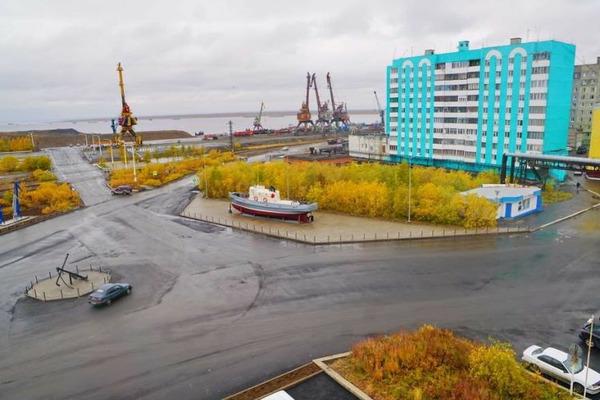 Дудинская площадь Портовиков готова к открытию