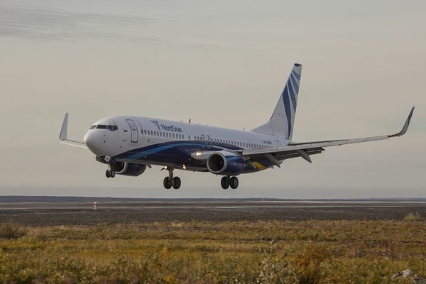 """Авиакомпания NordStar – лидер сентябрьского рейтинга по пунктуальности в """"Минеральных водах"""""""