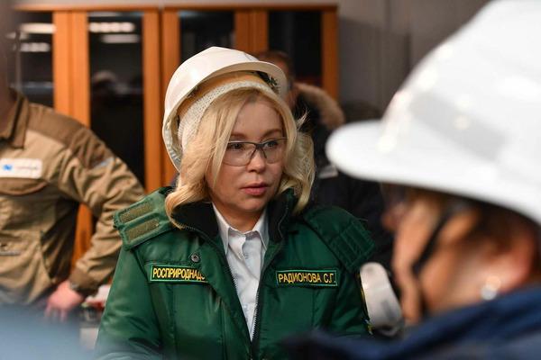 Глава Росприроднадзора Светлана Радионова посетила Талнахскую обогатительную фабрику
