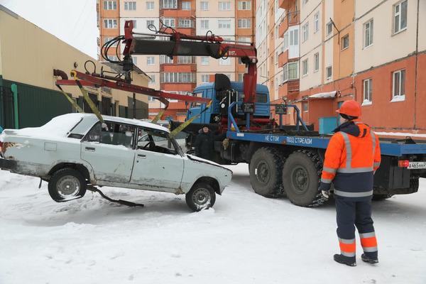 В Норильске соберут и утилизируют автохлам