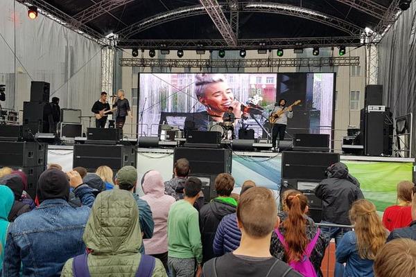 "Концерт Варвары Визбор собрал норильчан на стадионе ""Заполярник"""