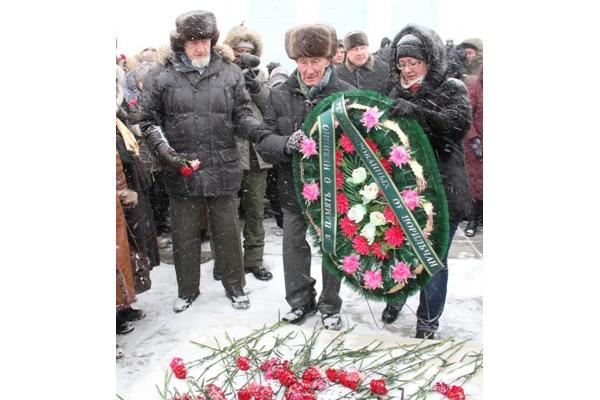 Память жертв политических репрессий почтили в Норильске