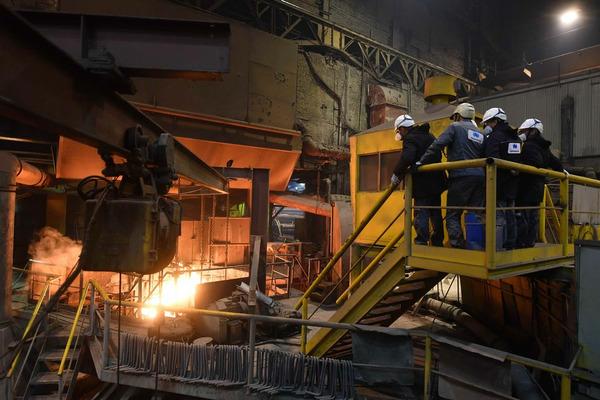 Участники Международного семинара по вопросам госрегулирования в сфере охраны труда сегодня побывали на Медном заводе