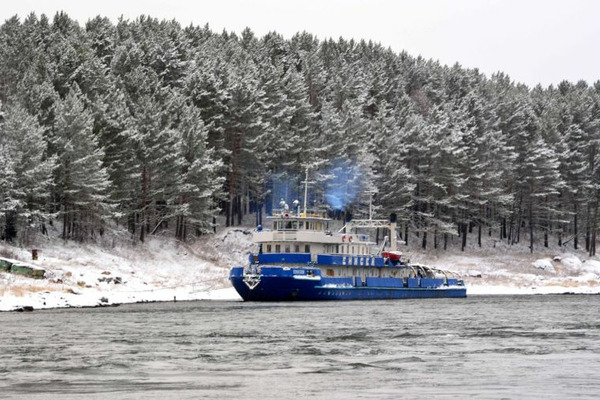 Мероприятия по обучению персонала проходят в Енисейском пароходстве