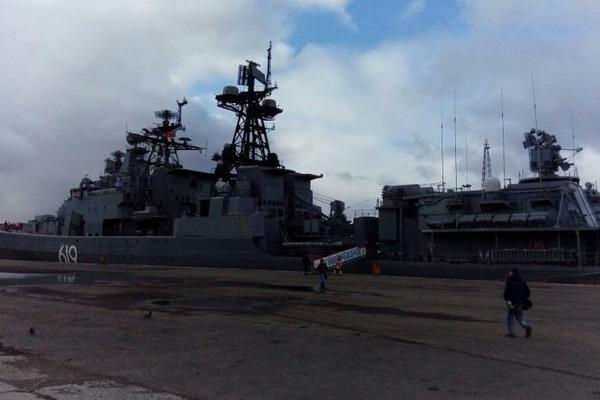 Норильчане смогут посетить военные корабли
