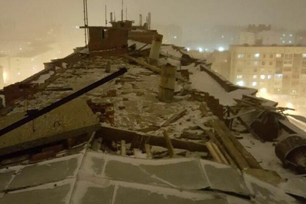 Штормовое предупреждение сохраняется в Норильске