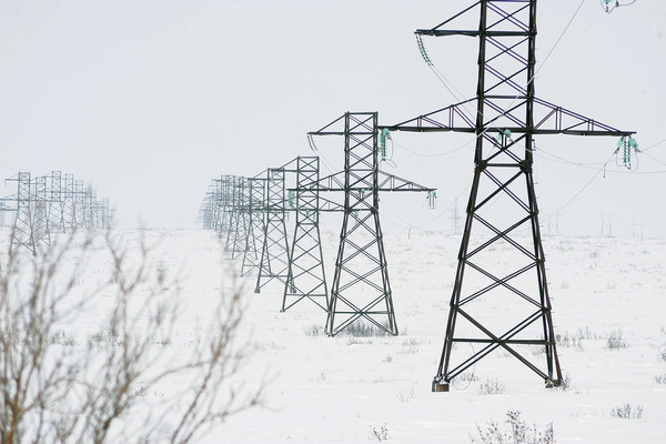 На линиях электропередачи Норильск – Дудинка устанавливают защиту на случай природных катаклизмов
