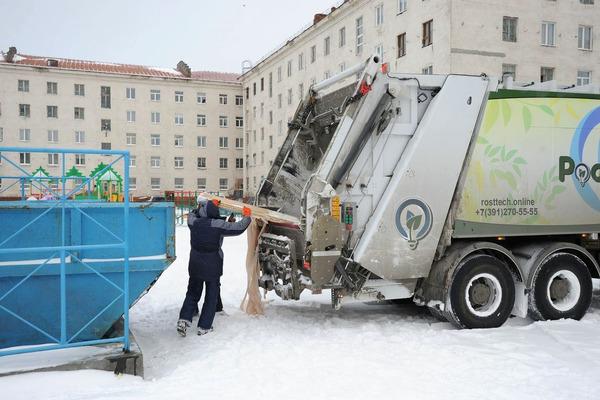 Норильчане могут задать вопрос по вывозу мусора в единой IT-системе