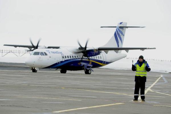 Авиакомпания NordStar выполнила первый рейс из Красноярска в Полярный