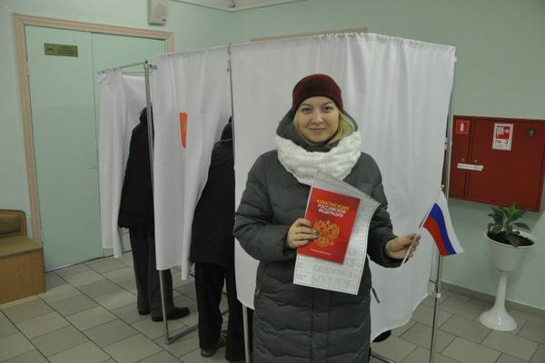 Явка на выборы президента РФ в Норильске выше краевой почти на 2%