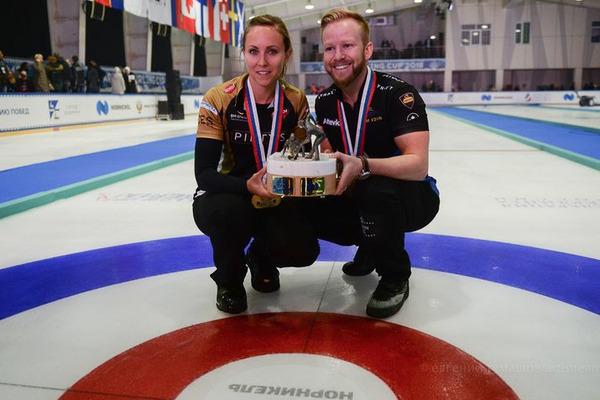 """Arctic Curling Cup 2018: победа у канадско-шведской пары, Шотландия – вторая, """"Россия-2"""" – третья"""