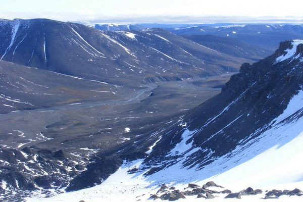 Ученые хотят исследовать тающий ледник на Таймыре