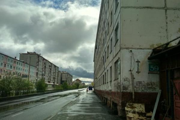 Участок дороги по Талнахской закроют в связи со сносом аварийного здания