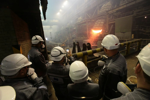 Члены совета директоров «Норникеля» посетили Надеждинский металлургический завод