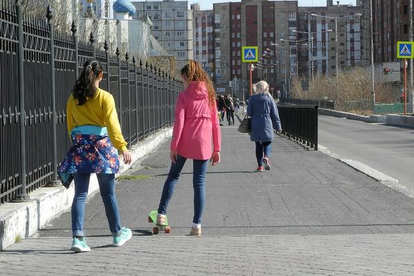 Почти летнее тепло в Норильске сменится прохладой и дождем