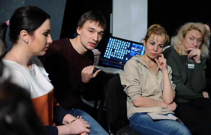 """Семинар """"Театральный класс"""" в рамках фестиваля """"Золотая маска"""""""