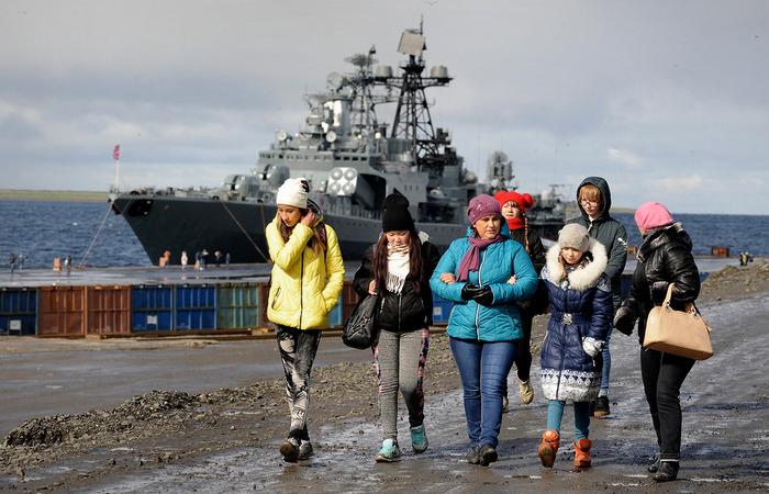 Экскурсии на корабли Северного флота