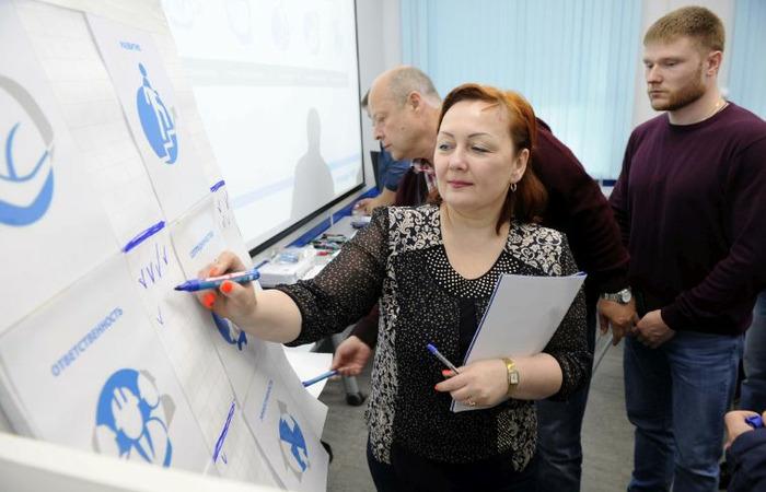 """Бизнес-игра """"Управление по ценностям"""" объединила более 20 линейных руководителей предприятий """"Норникеля"""""""