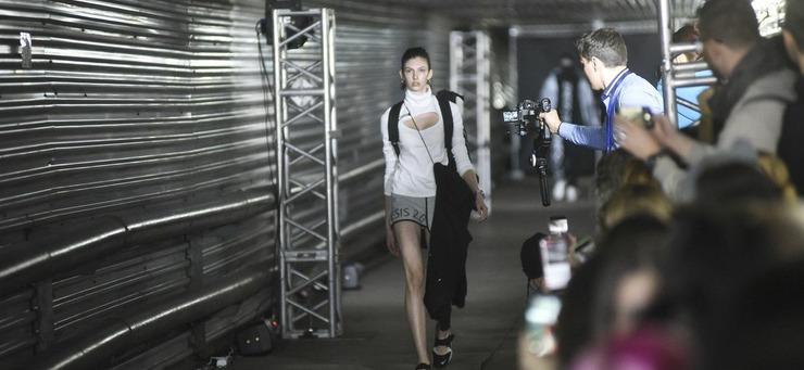 Модный показ на Медном заводе