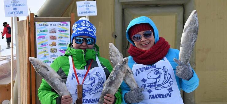 Первый семейный Фестиваль подледной рыбалки на Енисее