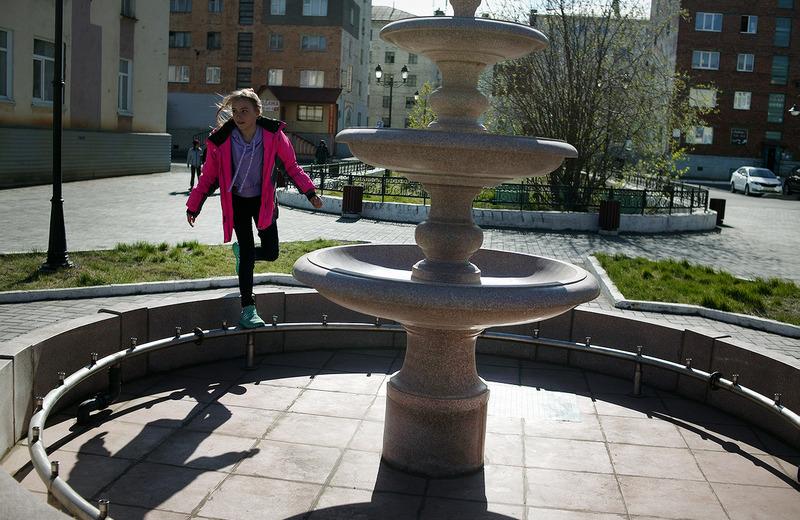На бульваре Влюбленных запустили фонтан