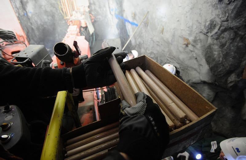 Благодаря новым технологиям на руднике «Скалистый» значительно увеличили темпы проходки.