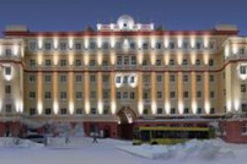 На фасадах трех домов Ленинского проспекта планируют установить архитектурную подсветку (эскиз)