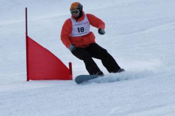 """Соревнования по сноуборду, организованные """"Кольской ГМК"""", прошли в Мончегорске"""
