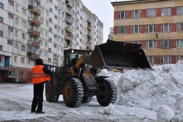 Свыше 260 тыс. тонн снега вывезено из норильских дворов с начала года