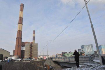 Завершен ремонт моста на Юго-западной объездной дороге в районе норильской ТЭЦ-1