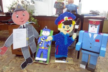 """Уже 65 работ прислали юные жители Таймыра на конкурс самодельных игрушек """"Полицейский дядя Степа"""""""