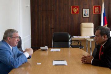 Виктор Толоконский обсудил с дипломатами стран Азиатско-Тихоокеанского региона перспективы сотрудничества с Красноярским краем