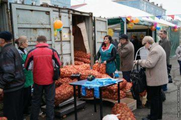 """160 тонн сельскохозпродукции и продовольственных товаров доставят в Дудинку к традиционной ярмарке """"Приметы осени"""""""