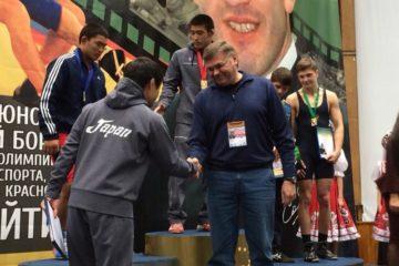 Норильчане стали призерами международного турнира по вольной борьбе