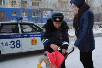 """Таймырские госавтоинспекторы подключились к общекраевой акции """"Засветись!"""""""