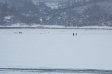 Двое таймырских рыбаков оказались на оторвавшейся льдине