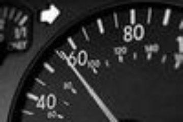 Свыше 90 норильских водителей превысили скорость за неделю
