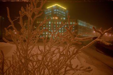 Количество полос для движения на главной улице Норильска уменьшится