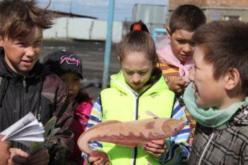 Эко-уроки проводят сотрудники Объединенной дирекции заповедников Таймыра для воспитанников норильских и хатангских пришкольных лагерей