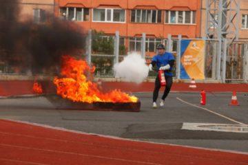 Определены победители соревнований по пожарно-прикладному спорту среди подразделений Норильского гарнизона пожарной охраны