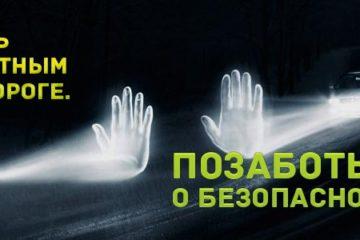 Госавтоинспекторы  призывают норильчан использовать световозвращатели полярной ночью