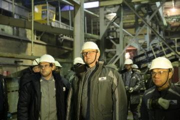 На площадке НМЗ завершаются пуско-наладочные работы по проекту увеличения мощности переработки завода