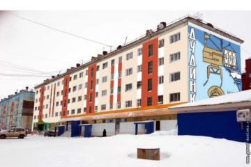 Фасады еще порядка 20 домов обновят к 350-летию Дудинки