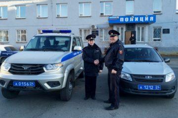 Полицейские северных территорий края получили новые автомобили и экипировку