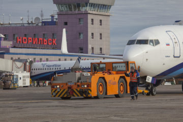 """""""Норникель"""", федеральные и краевые власти компенсируют NordStar убытки, связанные с авиаперевозками в период реконструкции """"взлетки"""" в Норильске"""
