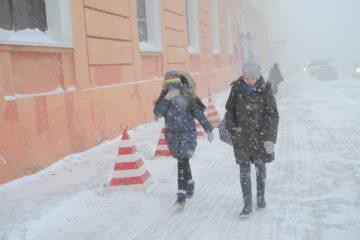 Неблагоприятная погода продержится в Норильске, ориентировочно, до 1 февраля